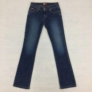 Tommy Hilfiger Straight Low Rise Blue Denim Jeans